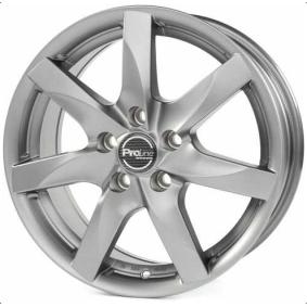 alloy wheel PROLINE BX100 mattgrau 17 inches 5x112 PCD ET51 03950713