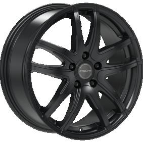 Alufelge PROLINE VX100 MattSchwarz / Poliert 14 Zoll 4x98 PCD ET35 03917450