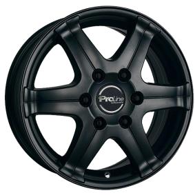 alloy wheel PROLINE PV/T Matte black/polished 16 inches 5x130 PCD ET60 03838643
