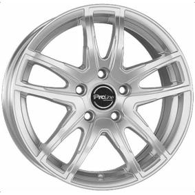 alloy wheel PROLINE VX100 brilliant silver painted 16 inches 5x112 PCD ET45 03917665