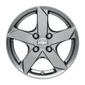 Alufelge RIAL Kodiak Graphit 14 Zoll 4x100 PCD ET47 KK55447L62-7