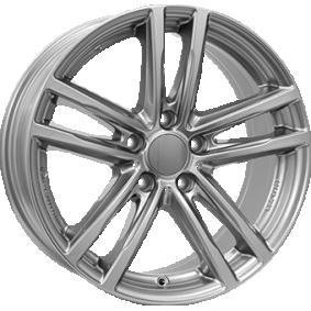 alloy wheel RIAL X10 gun-metal-grey 16 inches 5x112 PCD ET47 X10-70647W67-9