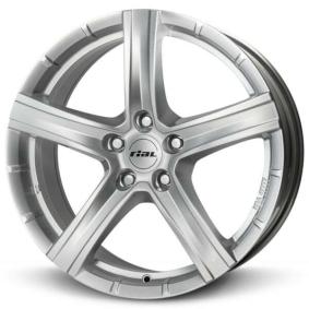 RIAL Quinto polar silver alloy wheel 9.5xR20 PCD 5x150 ET52 d110.10