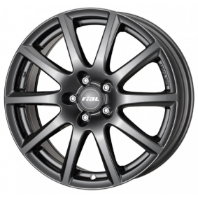 alloy wheel RIAL Milano matt black titanium lip 15 inches 5x112 PCD ET47 MI60547V22-5