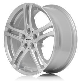 Alufelge RIAL Bavaro Brillantsilber lackiert 16 Zoll 5x98 PCD ET38 BR65638F61