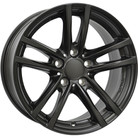 alloy wheel RIAL X10 Matte black/polished 16 inches 5x112 PCD ET52 X10-70652W64-5