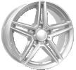 RIAL M10, 17cal, srebrny polarny, 5-otworowa, 112[mm], felga aluminiowa M10-1-70748M81-0