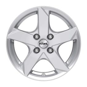Alufelge RIAL Kodiak Polarsilber 14 Zoll 4x100 PCD ET39 KK55439OP11-0