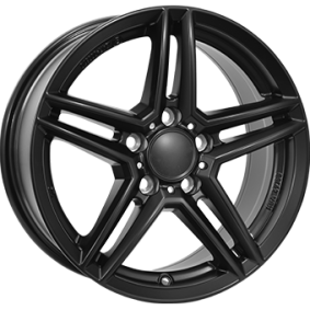 alloy wheel RIAL M10 hyper silber schwarz Horn poliert 16 inches 5x112 PCD ET49 M10-65649M84-5