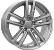 RIAL X10, 17tum, gun-metal-grey, 5-hål, 120mm, aluminiumfälg X10-75732W37-9