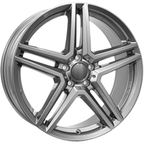 alloy wheel RIAL M10 gun-metal-grey 16 inches 5x112 PCD ET38 M10-1-65638M87-9