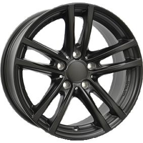 alloy wheel RIAL X10 MattSchwarz / Poliert 16 inches 5x112 PCD ET47 X10-70647W64-5