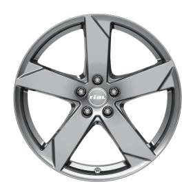 Alufelge RIAL Kodiak Graphit 15 Zoll 5x100 PCD ET38 KK60538V72-7
