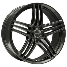alloy wheel WHEELWORLD WH12 dark gun metal 19 inches 5x112 PCD ET35 11770