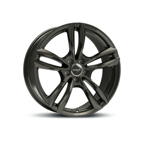 alloy wheel WHEELWORLD WH29 dark gun metal 17 inches 5x112 PCD ET54 14809