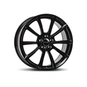 alloy wheel WHEELWORLD WH28 schwarz glanz 19 inches 5x114 PCD ET40 15633