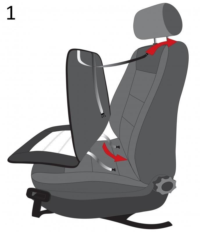 Heated Seat Cover WALSER 16794 rating