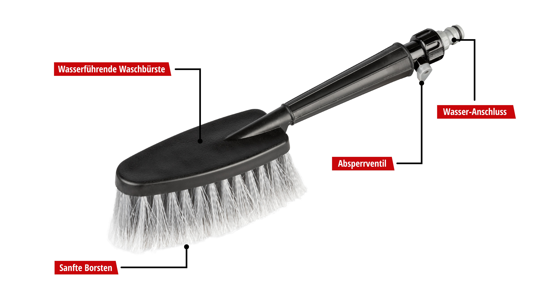 Interior detailing brushes WALSER 16078 9001778160782