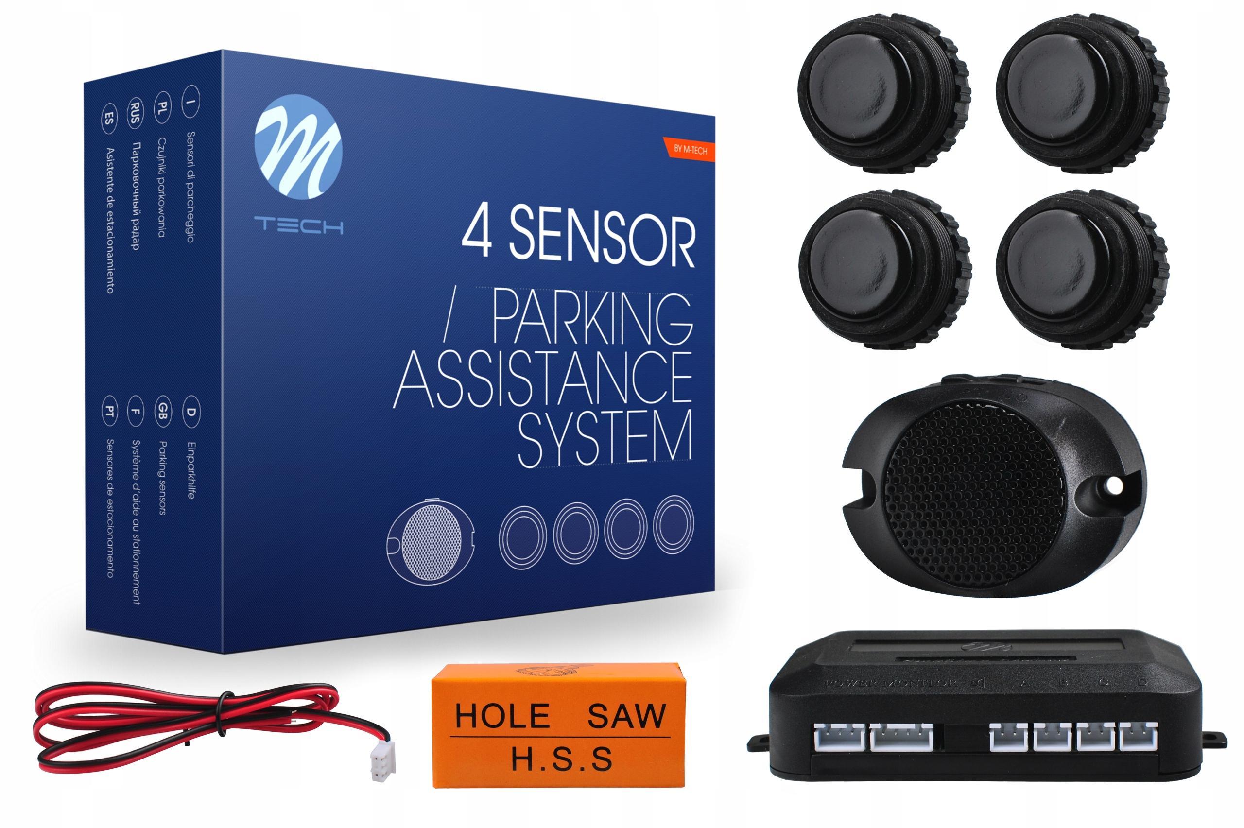 M-TECH  CP27B Parking sensors kit