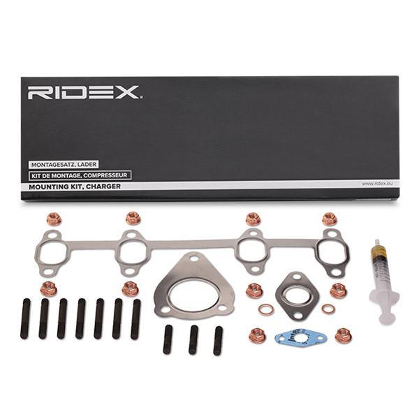 Juego de montaje, turbocompresor RIDEX 2420M0003 conocimiento experto