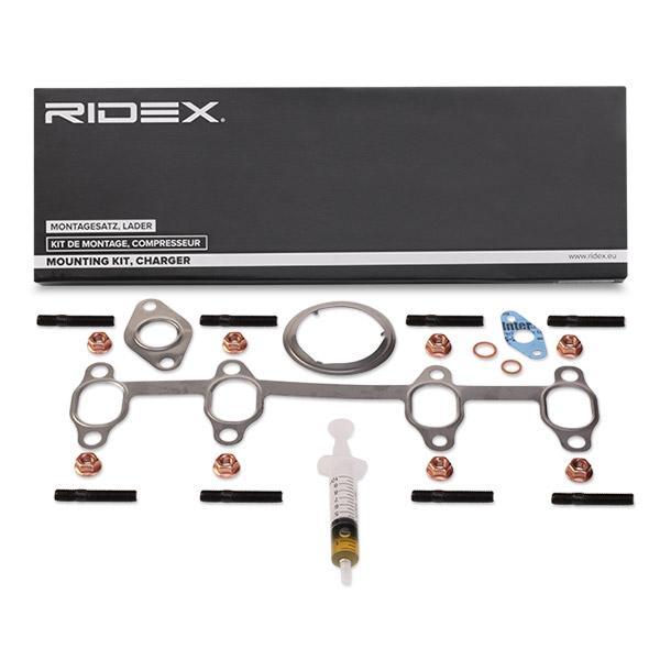 Juego de montaje, turbocompresor RIDEX 2420M0009 conocimiento experto
