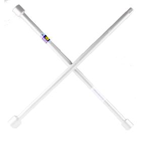 Llave de cruz para rueda de cuatro vías Long.: 350mm 420300