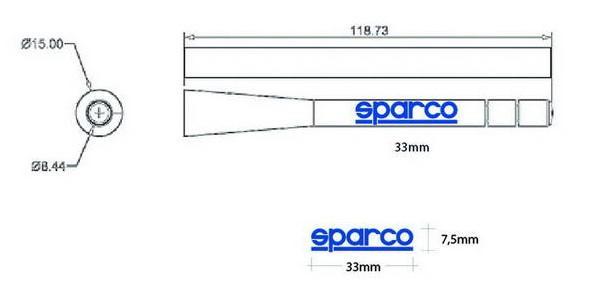 Antena SPARCO OPC14160001 conocimiento experto
