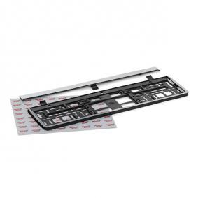 Number plate holder Quality: PP/PS 93035