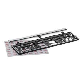Registreringsskylt hållare Kvalitet: PP/PS 93035