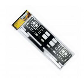 Registreringsskylt hållare Kvalitet: PP/PS 93036