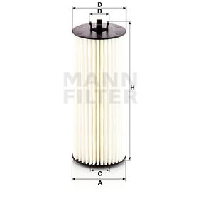 Ölfilter Ø: 57mm, Innendurchmesser: 20mm, Innendurchmesser 2: 26mm, Höhe: 146mm mit OEM-Nummer A2781800009