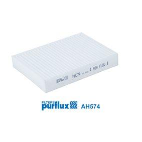 Filtro, aire habitáculo AH574 GETZ (TB) 1.4 i ac 2008