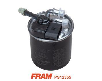 FRAM  PS12355 Fuel filter Height: 124mm
