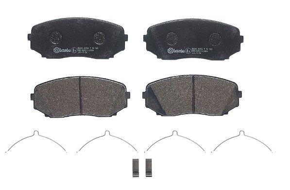 Комплект спирачно феродо, дискови спирачки BREMBO 24544 оценка