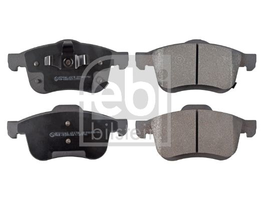 FEBI BILSTEIN  116253 Комплект спирачно феродо, дискови спирачки ширина: 69,0, 71,5мм, дебелина 1: 20мм