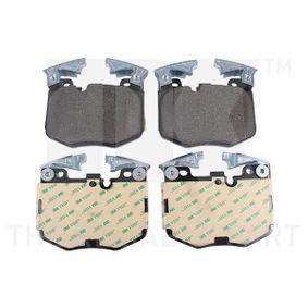 Bremsbelagsatz, Scheibenbremse Breite 1: 125,80mm, Höhe 1: 94,30mm, Dicke/Stärke 1: 19,80mm mit OEM-Nummer 34116888457