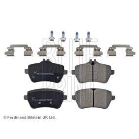 Bremsbelagsatz, Scheibenbremse Breite: 65,5mm, 55,3mm, Dicke/Stärke 1: 18,7mm mit OEM-Nummer 008 420 3420