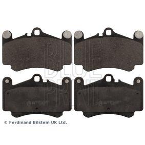Bremsbelagsatz, Scheibenbremse Breite: 89,0mm, Dicke/Stärke 1: 16,8mm mit OEM-Nummer 99635194912