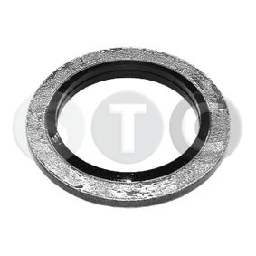 Seal, oil drain plug Ø: 24,0mm, Thickness: 1,5mm, Inner Diameter: 16,7mm with OEM Number 1102 655 05R