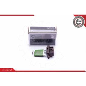Resistor, interior blower 94SKV071 PUNTO (188) 1.2 16V 80 MY 2004