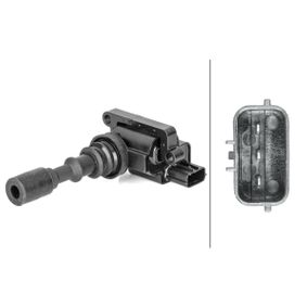 Ignition Coil Number of Poles: 3-pin connector with OEM Number 27300-39050