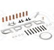 ELRING mit Dichtungen, mit Montageanleitung, mit Schrauben 880240