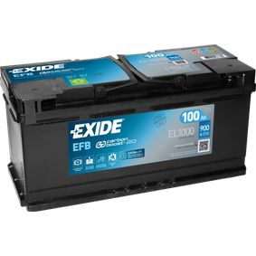 EXIDE Nutzfahrzeugbatterien B13 , 100 Ah , 12 V , L5 , 850 A , EFB-Batterie