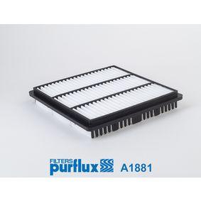 Filtro aria A1881 L 400 Bus (PD_W, PC_W, PA_V, PB_V, PA_W) 2.4 ac 1998