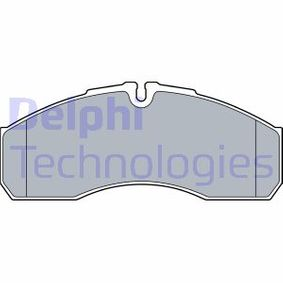 Bremsbelagsatz, Scheibenbremse Höhe 2: 0mm, Höhe: 67,8mm, Dicke/Stärke 2: 19,6mm mit OEM-Nummer 41060 9X129