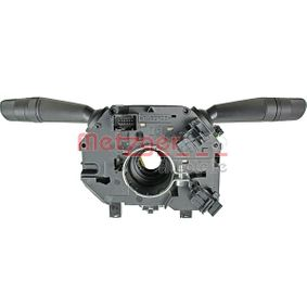 Steering Column Switch with light dimmer function, with indicator function, with horn, with wipe-wash function, with rear wipe-wash function, with board computer function, with radio control function with OEM Number 735521315