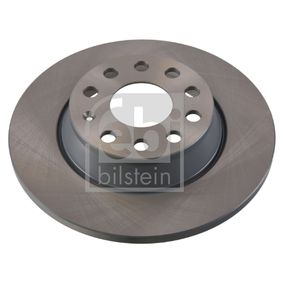 Bremsscheibe Bremsscheibendicke: 12mm, Ø: 282,0mm mit OEM-Nummer 1K0615601AD