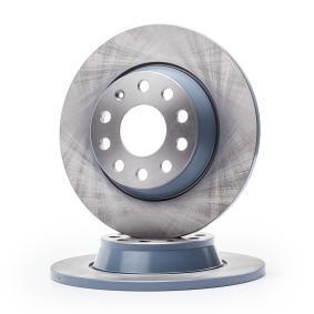 Brake Disc Brake Disc Thickness: 12mm, Ø: 282,0mm with OEM Number 5Q0615601G