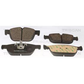 Bremsbelagsatz, Scheibenbremse Höhe: 74,8mm, Dicke/Stärke: 18,4mm mit OEM-Nummer 3144597-6