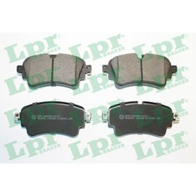 Brake Pad Set, disc brake Width: 129,2mm, Height: 59mm, Thickness: 17,5mm with OEM Number 8W0698451T
